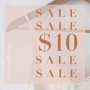 💕 $10 SALE - items marked with 💕 are $10 or less